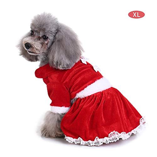 Funihut huisdierkostuum, kleding voor huisdieren, kleding, vlinder, schattig kostuum, kleding voor honden, puppy's en kerstdecoratie, XL, Een