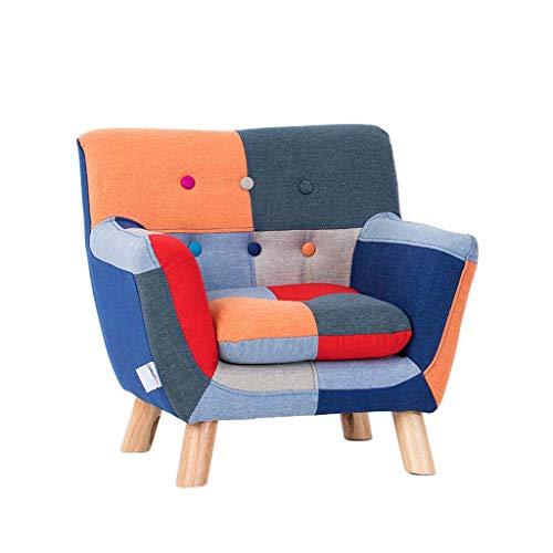 Kindersessel Moderne Stuhl Schlafzimmer Wohnzimmer Sessel Mit Massivholz Beine Sitz Kind Lesen Sofa Stuhl Baby SüßEs Baby Kleines Sofa