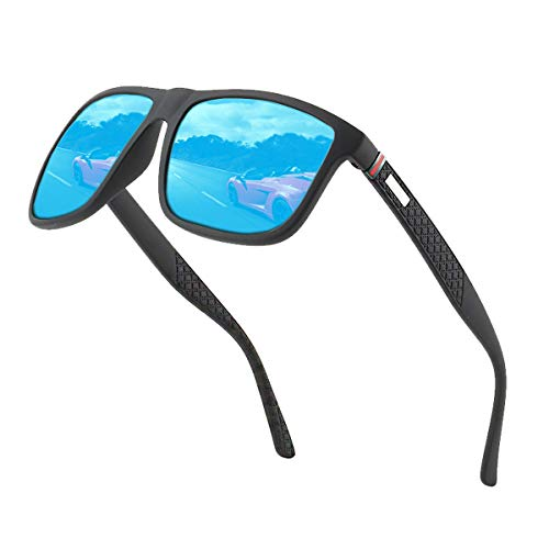 Polarisierte Sonnenbrille Herren /Damen ; Vintage / Klassisch/ Elegant Brillengestell; HD-Pilotobjektive; Golf / Fahren / Angeln / Reisebrille /Outdoor-Sportarten Mode Sonnenbrille (Blau)