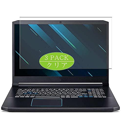 VacFun 3 Piezas Protector de Pantalla, compatible con Acer Predator Helios 300 PH315-54 15.6', Screen Protector Película Protectora (Not Cristal Templado Funda Carcasa)