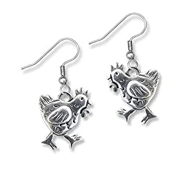Chicken Earrings are the perfect gifts for chicken lovers