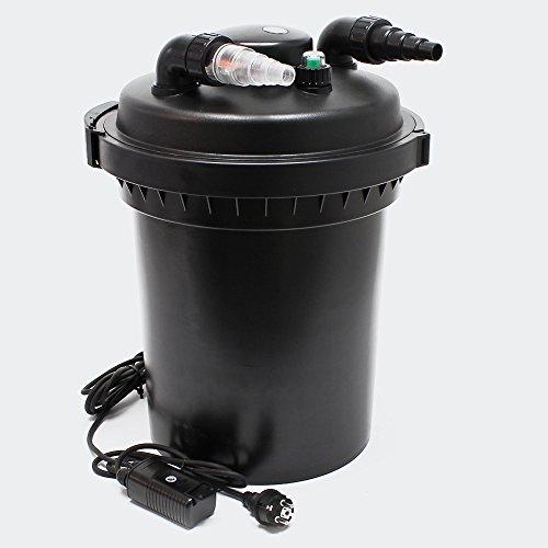 SunSun CPF-500 Filtre de Bassin à Pression UVC 18W Stérilisateur jusqu'à 30000l