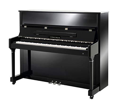 Klavier Marke Trautwein Modell KL-I Chrom 118 - schwarz poliert