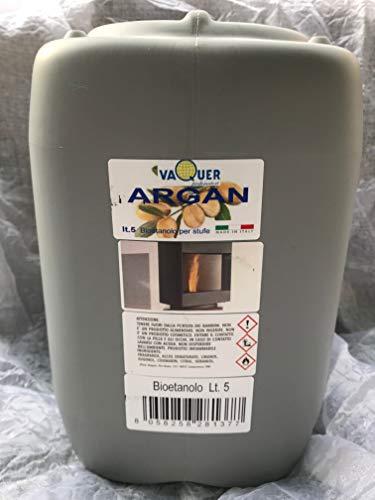 Bioethanol-Kombi für Bioethanol-Kamine mit 5 Flaschen von einem Liter