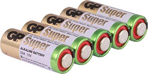 GP Battery High Voltage 23A (MS21 / MN21) Lot de 5