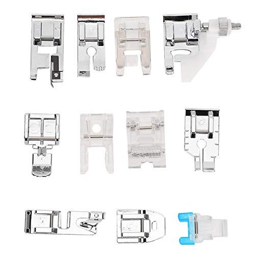 Prensatelas para máquina de coser, juego de prensatelas, accesorios para el hogar, máquinas de coser antiguas, blusas, vestidos