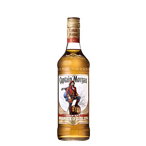 Captain Morgan Original Spiced Gold Rumverschnitt (1 x 0.7 l)