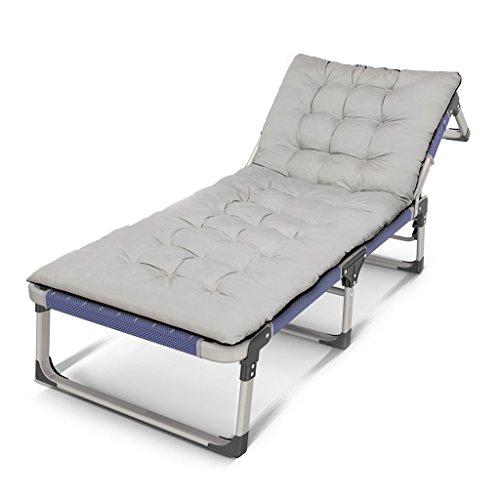 BLWX - Ménage Fauteuils inclinables Lit multifonctionnel Siesta Leisure Office Portable Chaise pliante (Couleur : C)