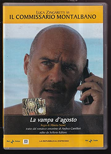 EBOND La Vampa D'agosto Il Commissario Montalbano Vol.1 DVD Editoriale