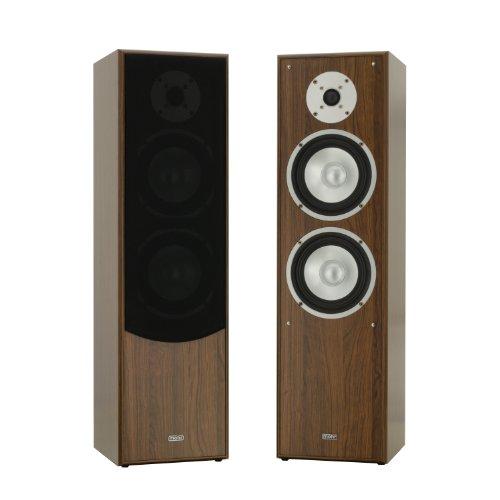mohr 1 Paar Standlautsprecher SL10 Nussbaum, Lautsprecherboxen, HiFi Klang zum günstigen Preis