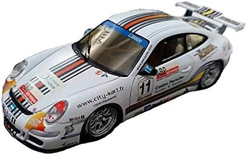Maisto 1 43 2007 Porsche 997 GT3 Carrera Cup Auto Modell Display Sammlung Wohnzimmer Dekoration Kinder Auto Modell Legierung Simulation Simulation Miniaturmodelle Fahrzeuge (Farbe   Weiß)
