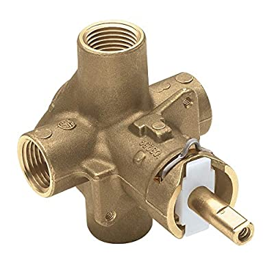 Moen 2510 Brass Posi-Temp Pressure Balancing Tub and Shower Valve, 1/2-Inch IPS Connections