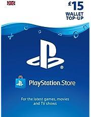 PlayStation PSN Card 15 GBP Wallet Top Up | PS5/PS4/PS3 | PSN Download Code - UK account