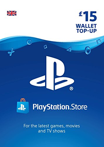 PlayStation PSN Card 15 GBP Wallet Top Up   PSN Download Code - UK account