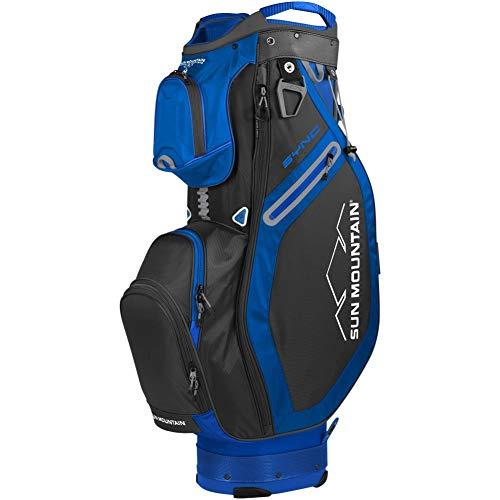 Sun Mountain 2020 Sync Golf Cart Bag Black/Blue