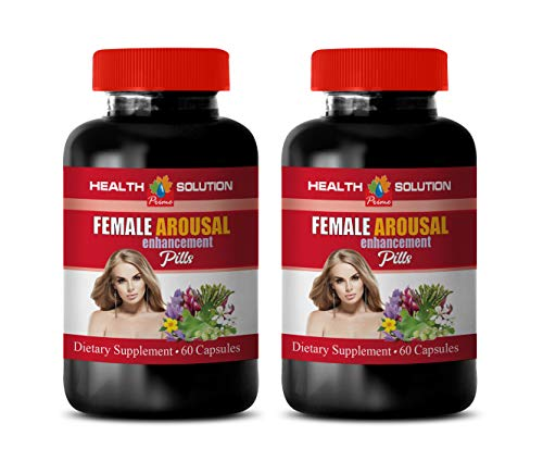 libido Booster for Women Best Seller - Female Arousal Enhancement Pills - Dietary Supplement - tribulus terrestris for Women - 2 Bottles 120 Capsules