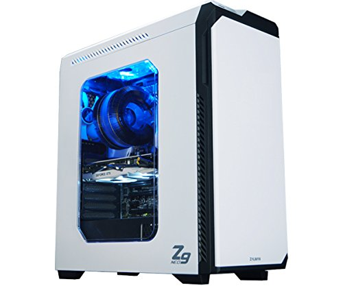Zalman Z9 Neo Performance Gaming Mid Tower Case, White