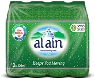 Al Ain Bottled Water - 12 Count/330ml