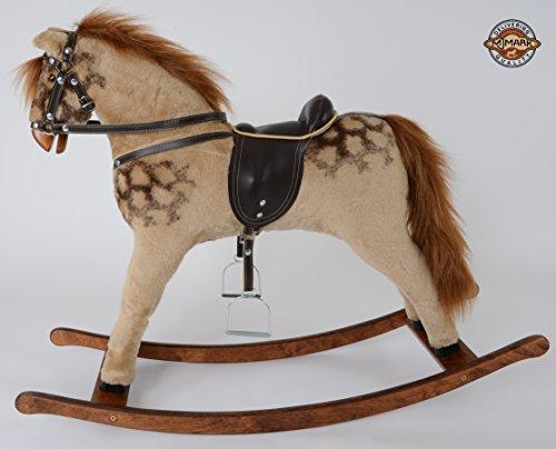 Magnifiquement fait /à la main cheval /à bascule MARS IV de MJMARK