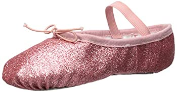 Bloch Girls  Glitterdust Dance Shoe Rose 8 C US Toddler