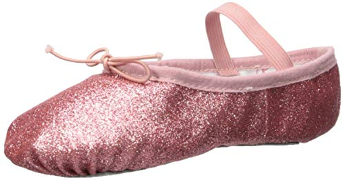 Bloch Girls' Glitterdust Dance Shoe, Rose, 12 Medium US Little Kid