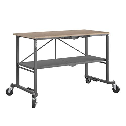 COSCO 66721DKG1E Folding Workbench and Table, Dark...