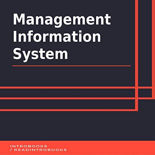 Management Information System audiobook cover art