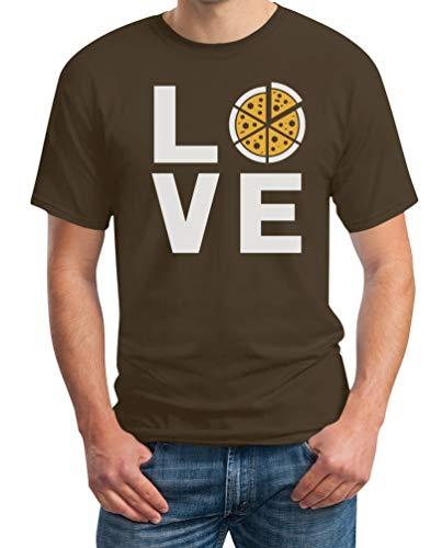 Love Pizza - cadeau-idee voor pizza fans heren T-shirt