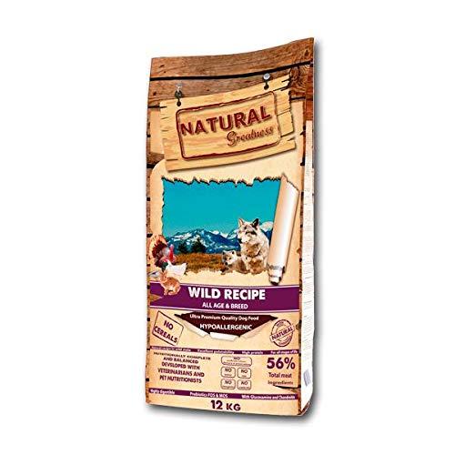 Natural Greatness Wild Recipe Alimento Seco Completo para Perros - 12000 gr