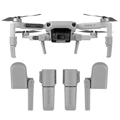 O'woda Tren de Aterrizaje Plegable para Drone, Extensible Soporte, Patas de Extensión...