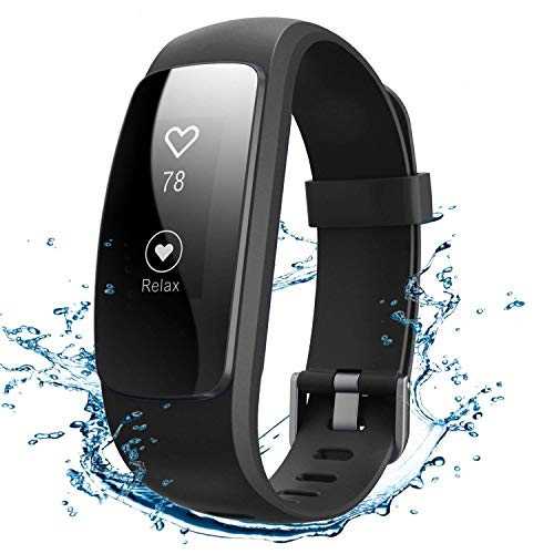 Winisok Fitness Tracker Cardio IP67, Braccialetto Fitness Impermeabile Orologio Cardiofrequenzimetro Fitness Activity Tracker