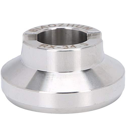 Kit de reparación de tornillos de caja de reloj abridor de caja de reloj pieza de reparación de reloj accesorio adecuado para ayudar a abrir la caja de tornillo de reloj utilizado para abrir(34.5mm)