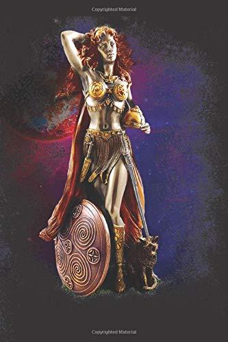 Freya Goddess: Blank Lined Notebook, Journal or Diary