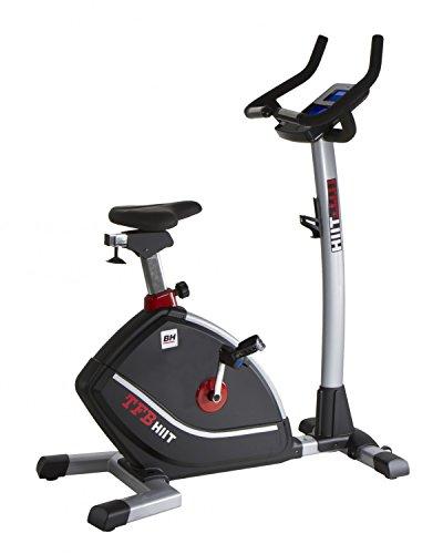 BH Fitness i.TFB HIIT + Dual Kit WH862H Heimtrainer - Fitnessbike - Ergometer - Anschluss von Smartphones/Tablets - Magnetisches Bremssystem - Hit Monitor - Transporträder - Pulsmessung