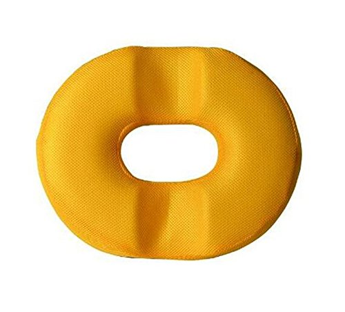 Best to Buy Memory Foam Donut Ring Comfort Foam Medical Seat Cushion for Hemorrhoid, Sciatic Nerve, Pregnancy Tailbone Pain (Orange)