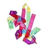 asdfwe Cinta De Danza Gimnasia Rítmica Streamer Arte De Gimnasia Ballet De Giro De Rod De Navidad para Los Deportes Color Mezclado