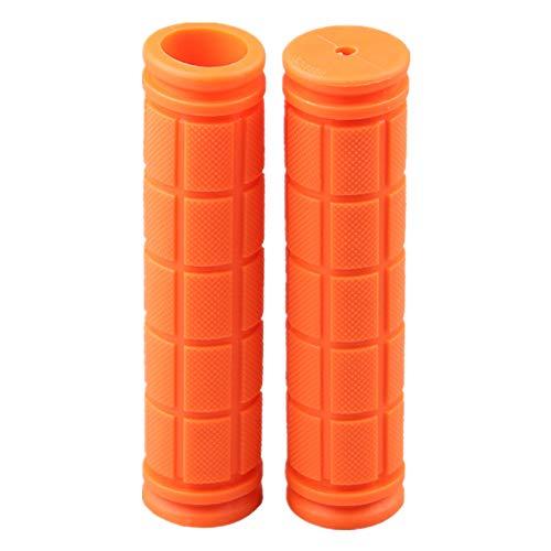 Fahrradlenker Griffe BMX Griffe Fahrrad Griffe Lenkergriffe Fahrrad Fahrrad Griffe Mountainbike Fahrradgriff Griffe Fahrrad Fahrrad Griffe Ergonomisch Fahrradgriffe Kinder orange,12cm