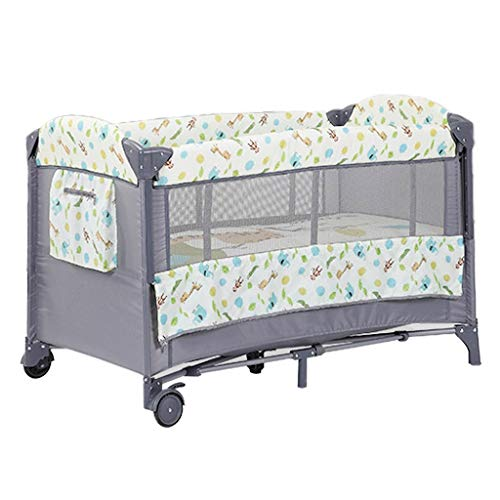 Lowest Prices! Rocking Chair Baby Travel Bed Crib Infant Sleeper Newborn Multi-Function Appease Shaker Portable Folding Rocking Bassinet Suitfor 0-36 Months Nursery Bed (Color : Giraffe)