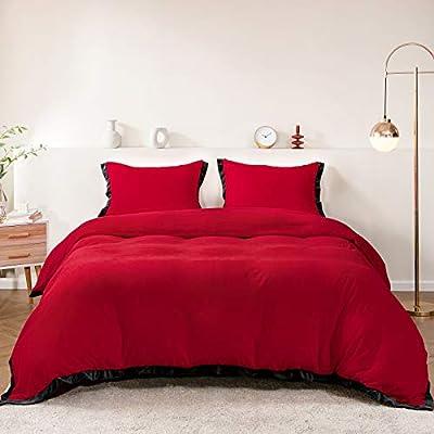 Bedding Duvet Cover Queen Flannel Velvet Soft Comforter 15022021112119