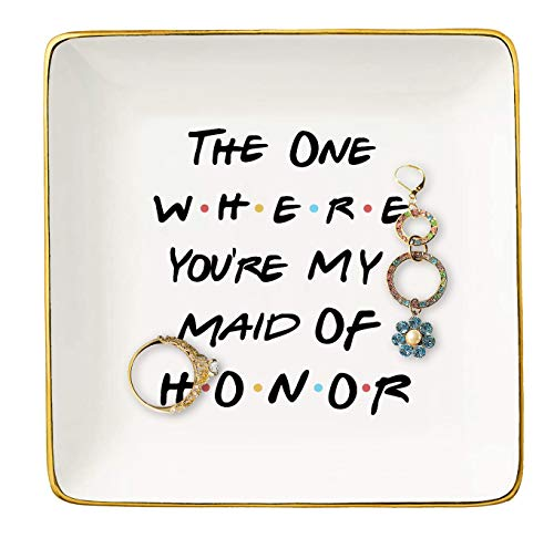 Bridesmaid Gift From Bride - The One Where You