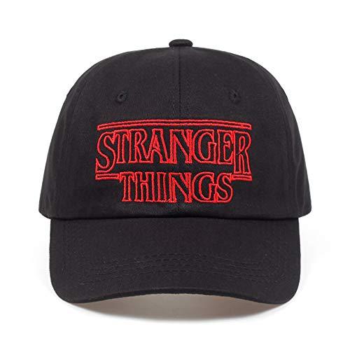 shenlanyu Sombrero Stranger Things Dustin Cotton Gorras De Béisbol Sombreros Summer Black Dad Gorras Hombres Ajustable Summer Shapback Golf Hat