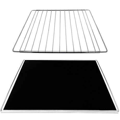 SPARES2GO Bandeja de goteo extensible para hornear + estante ajustable compatible con horno Fagor