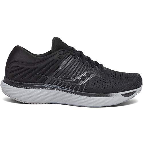 Saucony Men's S20546-35 Triumph 17 Running Shoe, Blackout - 10.5 M US