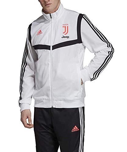 adidas Juve Pre Jkt Herrenjacke L Weiß / Schwarz