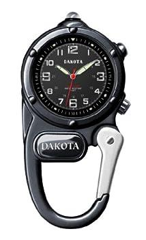 Dakota Gunmetal Mini Clip Microlight Watch