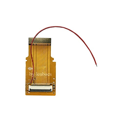 Lenboes Replacement GBA SP AGS-101 LCD Screen Backlit Adapter Mod 32 Pin Ribbon Cable for Nintendo Gameboy Advanc with Opening Tools