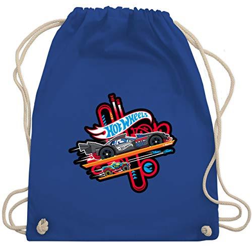 Shirtracer Hot Wheels Tasche - Rennautos - Unisize - Royalblau - WM110_Stoffbeutel - WM110 - Turnbeutel und Stoffbeutel aus Baumwolle