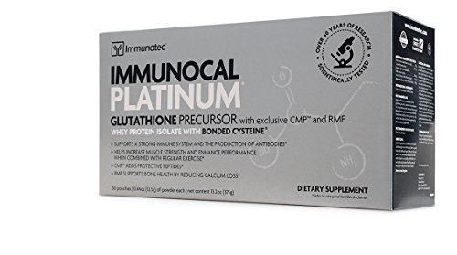 Immunocal Platinum | IMMUNOTEC (1 Caja - 30 Sobres)
