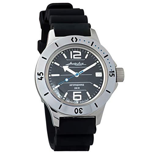 Vostok Amphibian 120695 - Reloj de Pulsera automático para Hombre