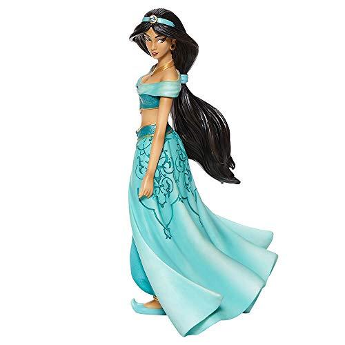 Enesco Disney Showcase Couture de Force Aladdin Jasmine Figura estilizada, 20.27 cm, Multicolor